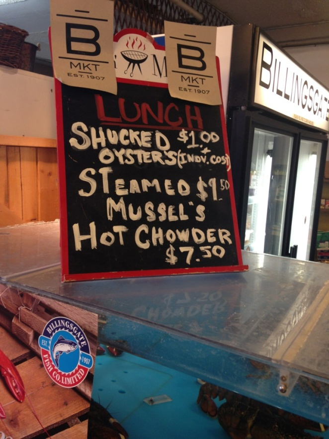 sign oysters