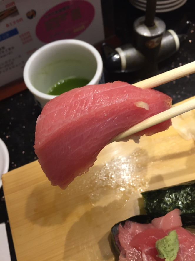 up close tuna