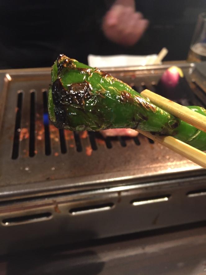 charred veg
