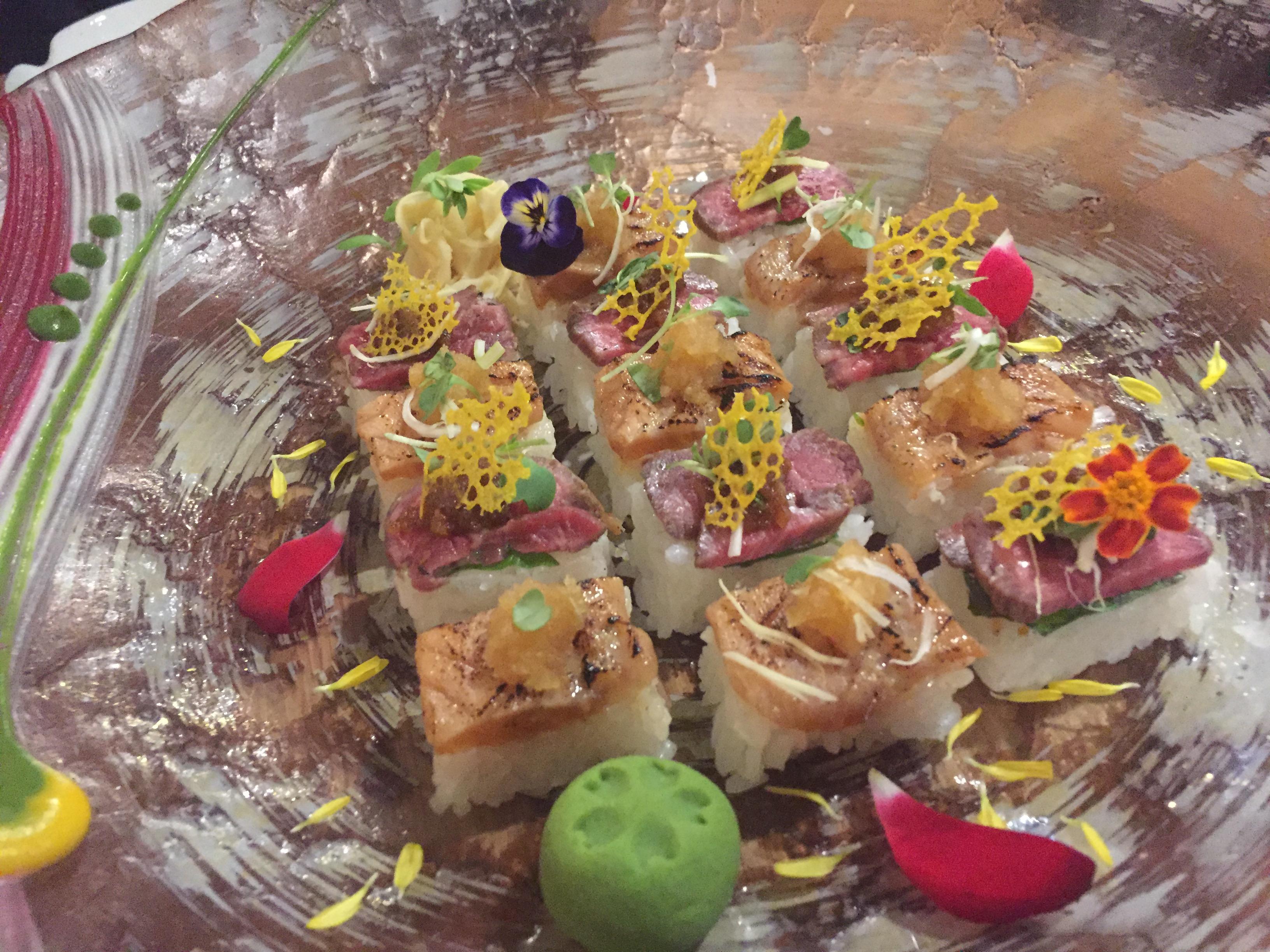 special sushi closeu