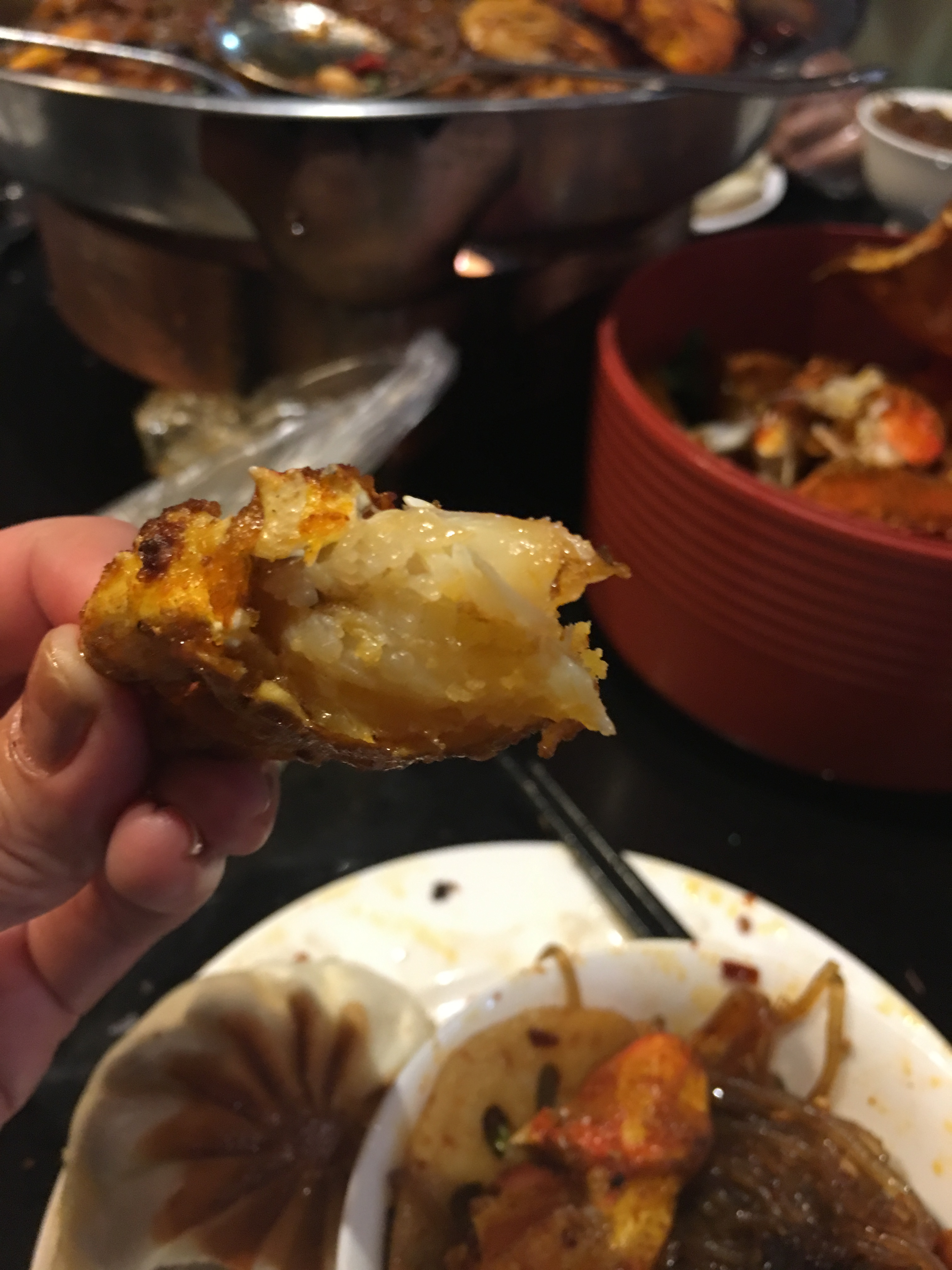piece crab