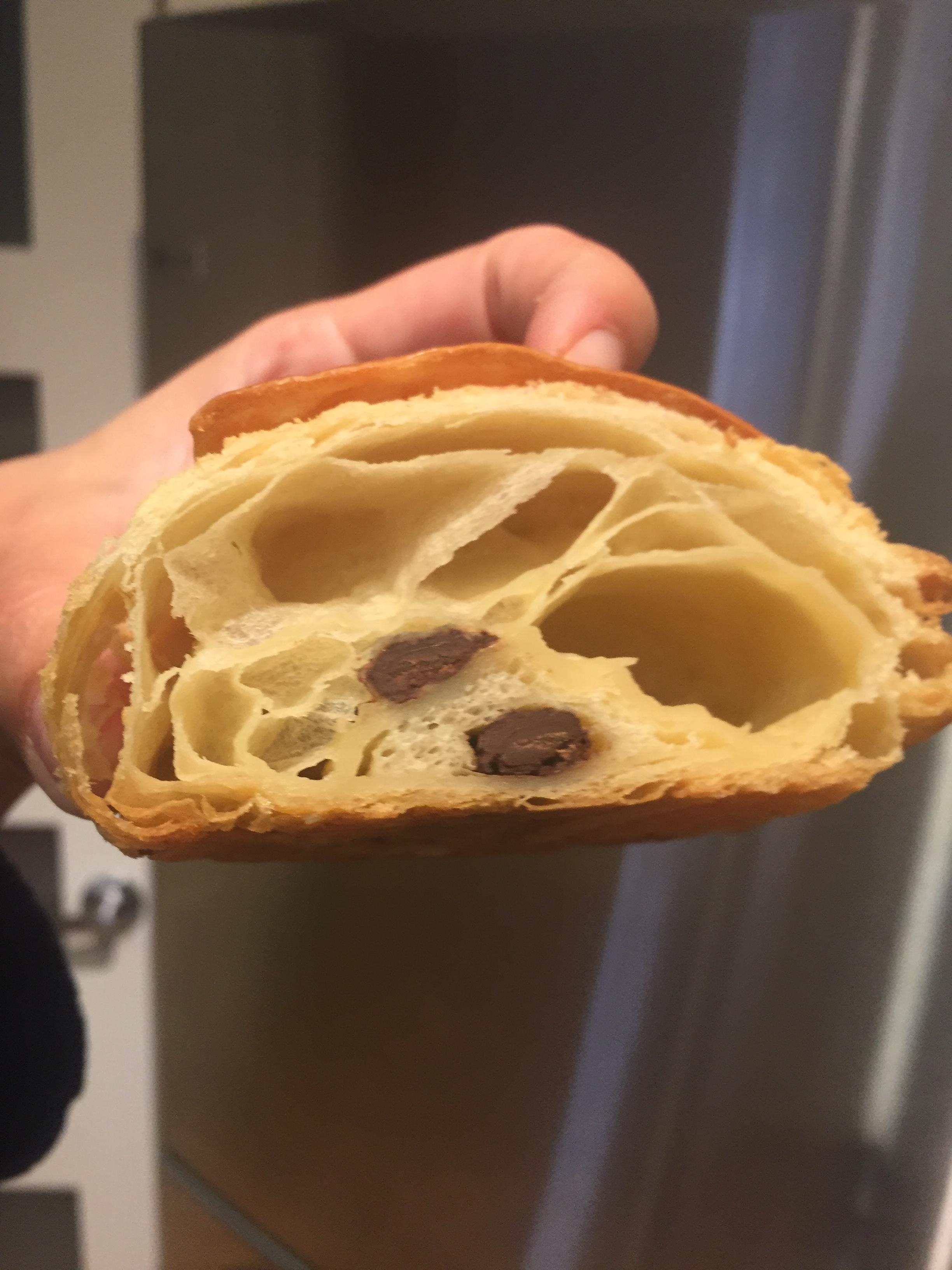 half chocolate