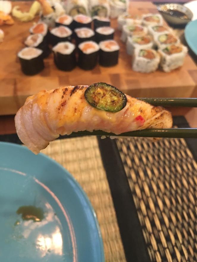 salmon heat