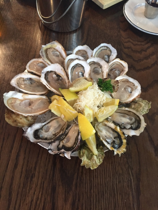 plate oysters